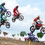 Glenn Coldenhoff performs during FIM Motocross World Championship 2017 Stop 2 in Pangkal Pinang, Indonesia on March 4, 2017
